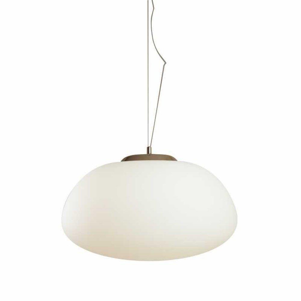 Lampa wisząca LUCIDUM FLAT biała 42 cm