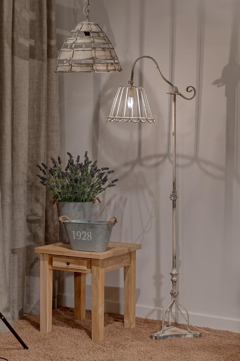 Ogromnie METALOWA INDUSTRIALNA LAMPA STOJĄCA PODŁOGOWA ALURO LAMALI -Style- JD41