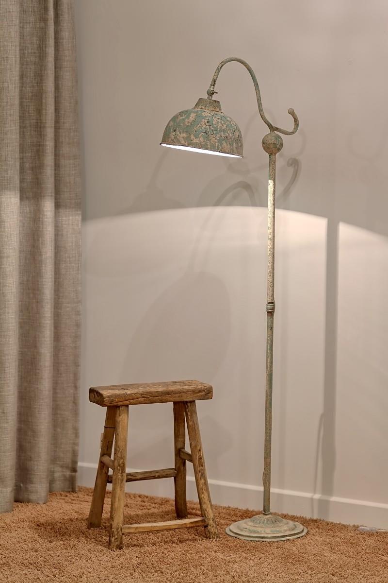 Super METALOWA INDUSTRIALNA LAMPA STOJĄCA PODŁOGOWA ALURO LAMALI -Style- GV57